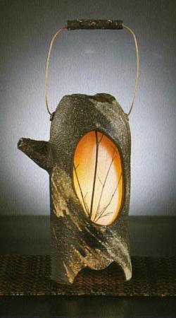 信楽焼灯り motenashi 彦-822