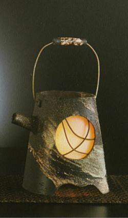 信楽焼灯り motenashi 彦-823