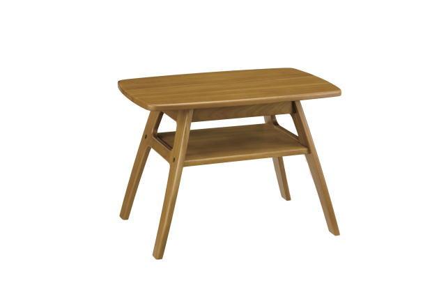 テーブル(7671)・棚付テーブル。どっしりとした重厚感を感じる「LARGO(ラルゴ)」シリーズ