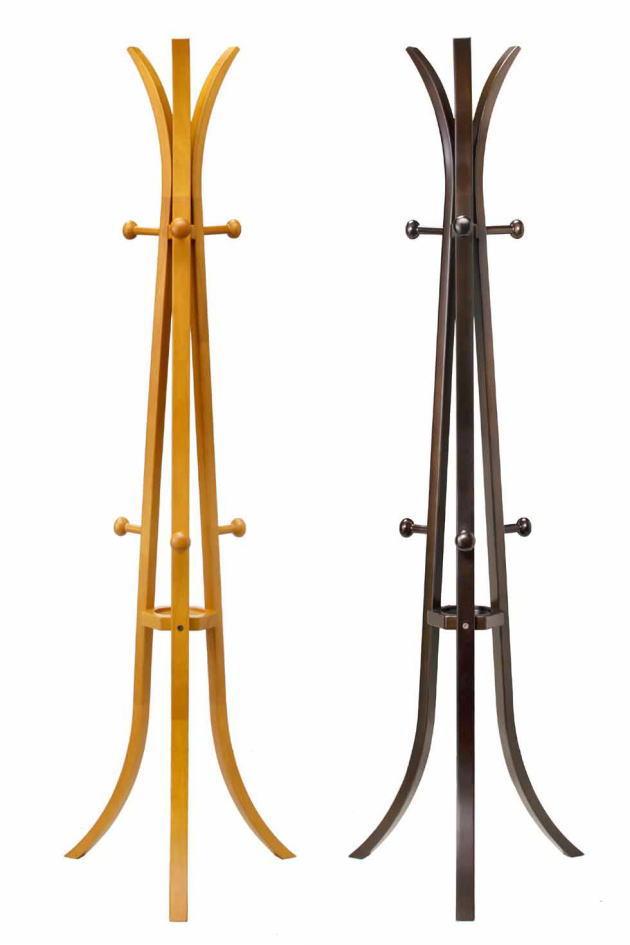 47幅ハンガースタンド(PS-2010CD・PS-2010WE)・おしゃれなデザインのハンガースタンド。ナチュラルとウェンジの2色