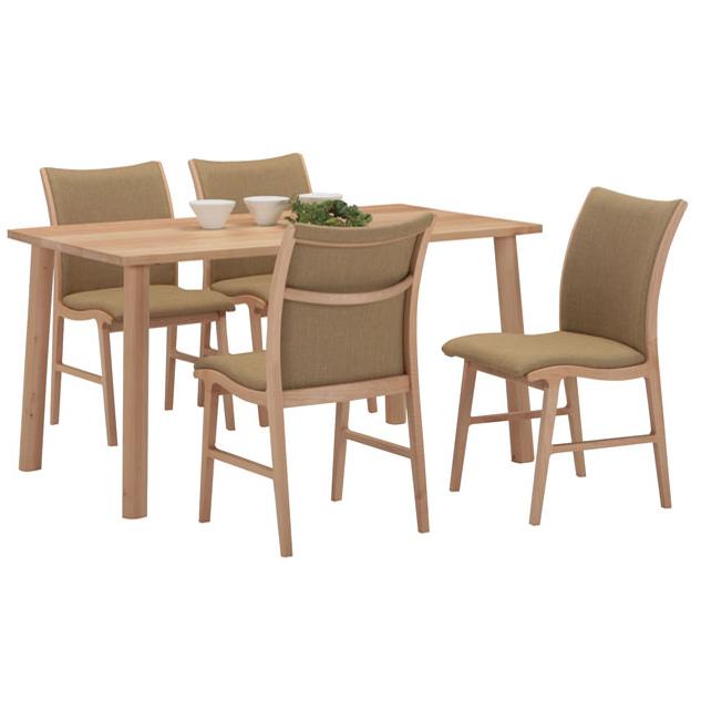 楓の森シリーズ・幅80cm-180cm長方形テーブル。天板の形状を選べます。チェアとのセット販売もございます。