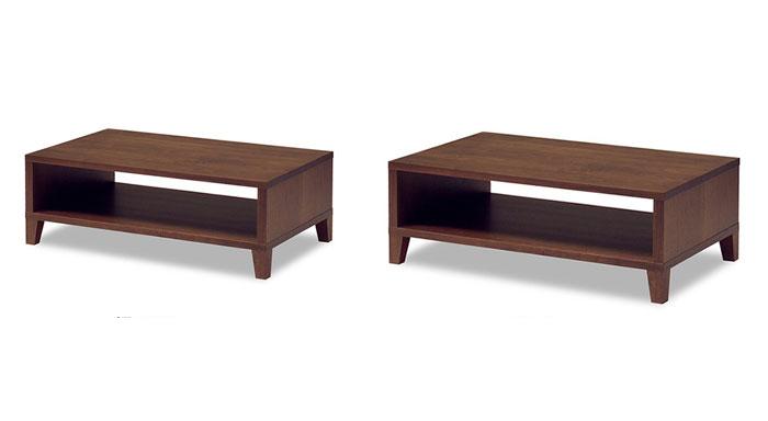 エテルノ Eterno リビングテーブル センターテーブル 幅100cm 幅120cm 木製 無垢材 ナラ ウォールナット チェリー メープル