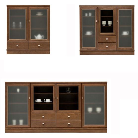 [日本製/]エテルノサイドボード/無垢材上品デザインのサイドボード 木製 ナラ/メープル/ウォールナット/チェリー材/北欧/安心の国産リビングボード(チェスト/収納チェスト) リビング収納