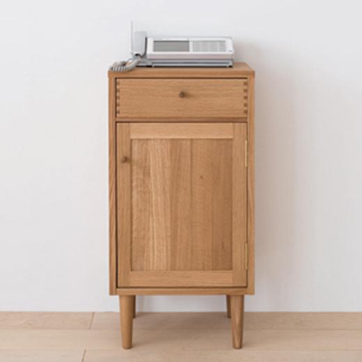 幅41cmFAX台(CN550)・A4サイズの用紙が横に入る引出付。コンパクトで使い勝手の良いサイズ。伝統的な「あられ組み」がアクセント。日々の暮らしにとけ込んでいく家具「madobe(マドベ)」シリーズ[送料無料][正規品]