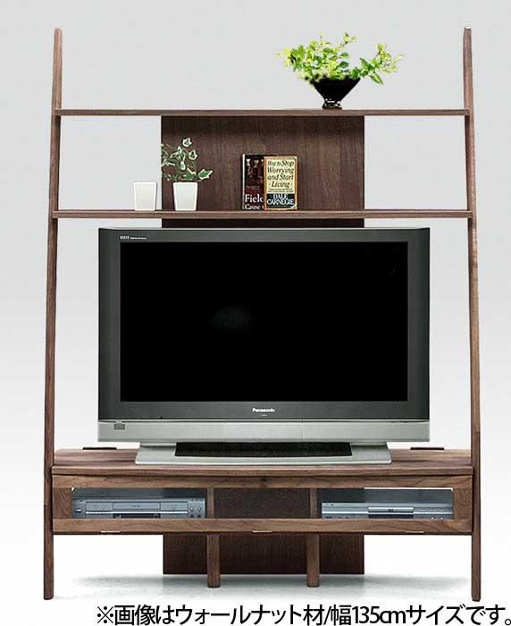 3サイズの無垢材TVボード 木製/北欧/ウォールナット,ブラックチェリー,メープル材のテレビボード(テレビ台) AVボード/TVキャビネット/テレビキャビネット/完成品/ロータイプ/AVキャビネット/ディープ(deep)