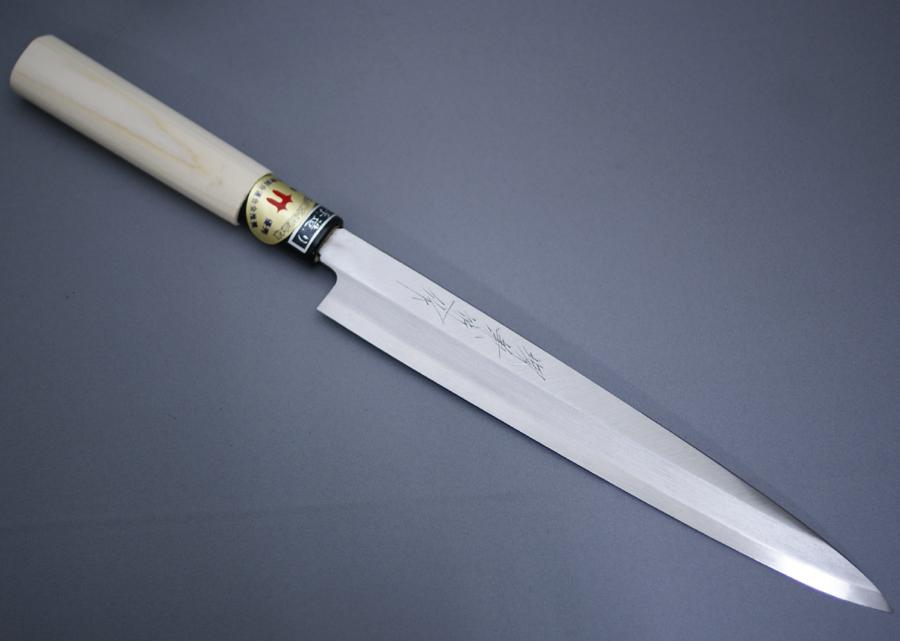 堺箱八 刺身包丁 柳刃包丁 刃渡り205mm 7寸 ステンレス 8A鋼 堺打刃物 正夫 日本製