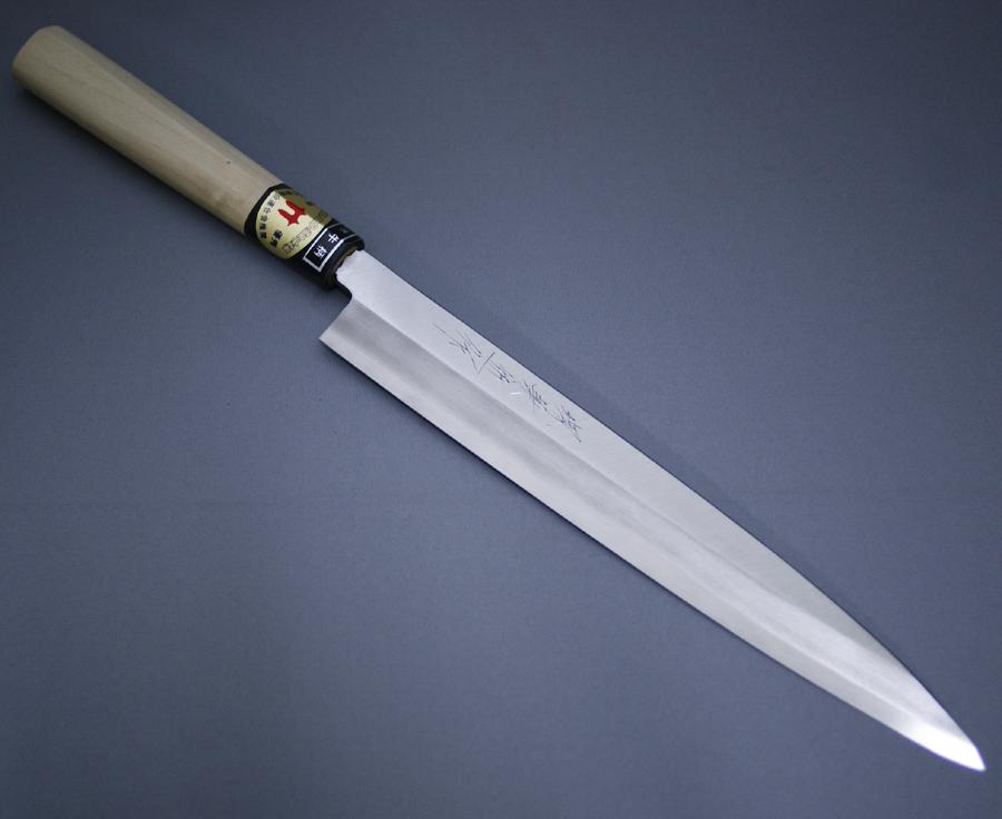 堺箱八 刺身包丁 柳刃包丁 刃渡り230mm 8寸 ステンレス 8A鋼 正夫 堺打刃物 日本製