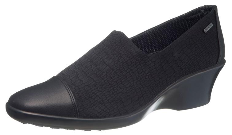 asahi shoes(アサヒシューズ) TOP DRY(トップドライ) エレガンス パンプス TDY3938 C265【ブラックリザード】 レディース AF39382
