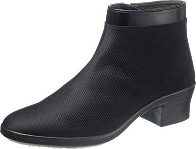 asahi shoes(アサヒシューズ) TOP DRY(トップドライ) エレガンス ショートブーツ TDY3979(A) C265【ブラック PB】 レディース AF39791