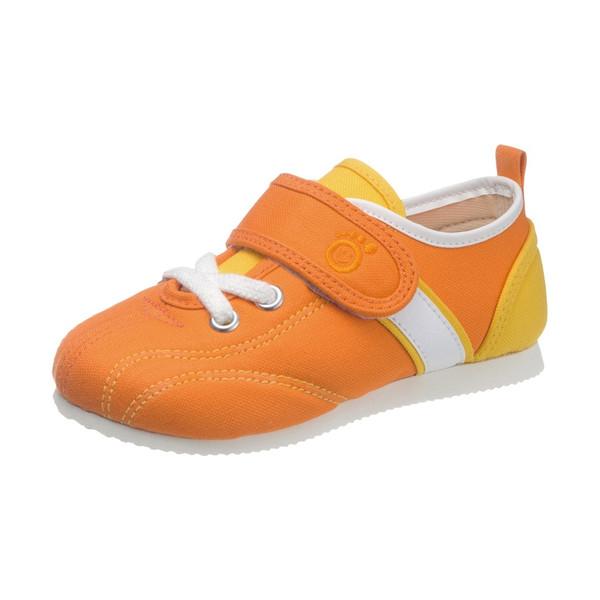 asahi shoes(アサヒシューズ) アサヒ健康くん スクールスニーカー AKK P037 C265【オレンジ】 ジュニア・キッズ KC50031