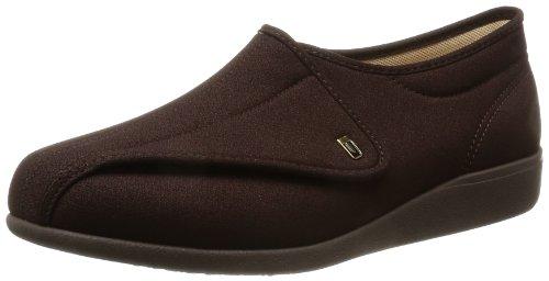 asahi shoes(アサヒシューズ) 快歩主義 介護靴 KHS M900 C265【ダークブラウンストレッチ】 メンズ KS22053