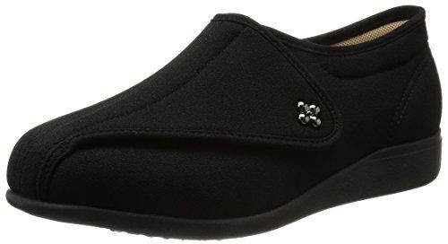 asahi shoes(アサヒシューズ) 快歩主義 介護靴 KHS L011-5E C265【ブラックストレッチ】 レディース KS23143