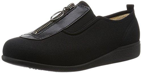 asahi shoes(アサヒシューズ) 快歩主義 介護靴 KHS L117 C265【ブラック】 レディース KS23313
