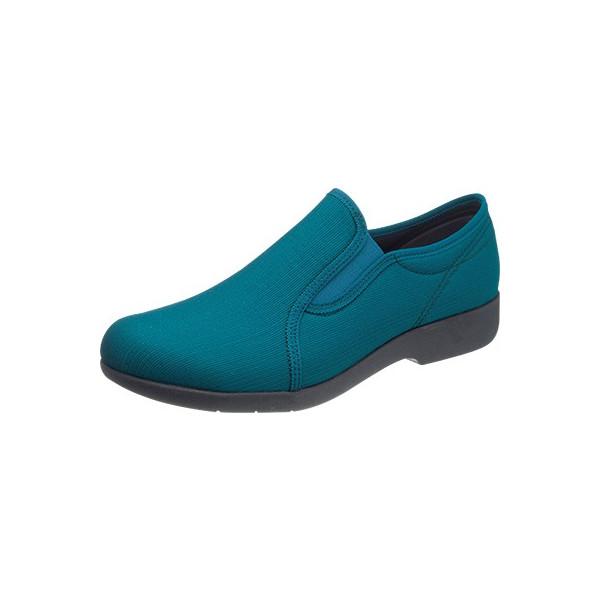 asahi shoes(アサヒシューズ) 快歩主義 介護靴 KHS L134 C265【グリーン】 レディース KS23501