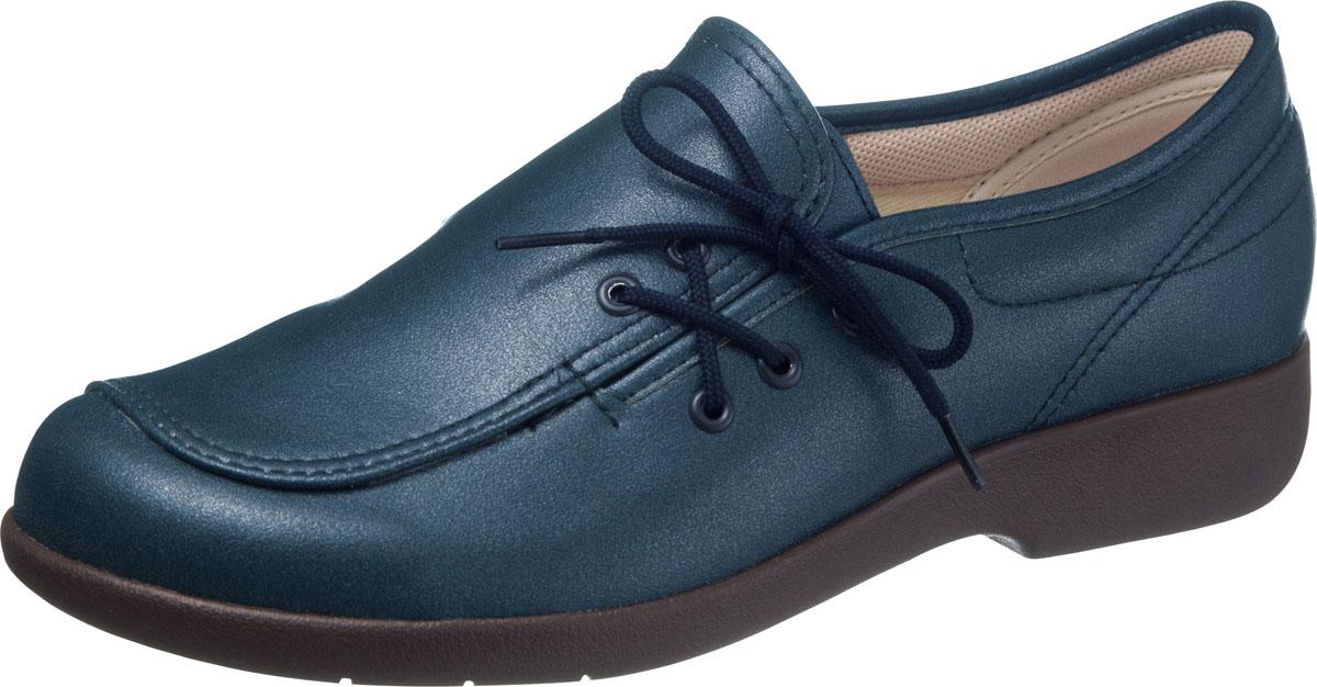 asahi shoes(アサヒシューズ) 快歩主義 介護靴 KHS L143 C265【ネイビー】 レディース KS23622