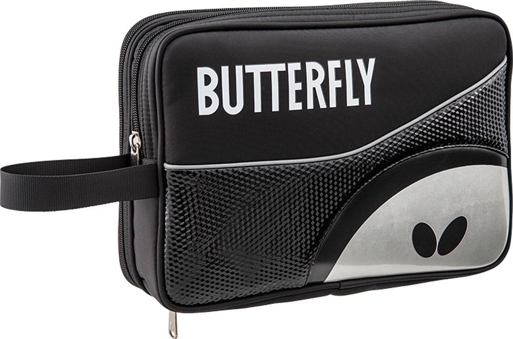 送料無料! Butterfly(バタフライ) 卓球 ケース ロジャル・DXケース メンズ・レディース 【ブラック】 63060 278