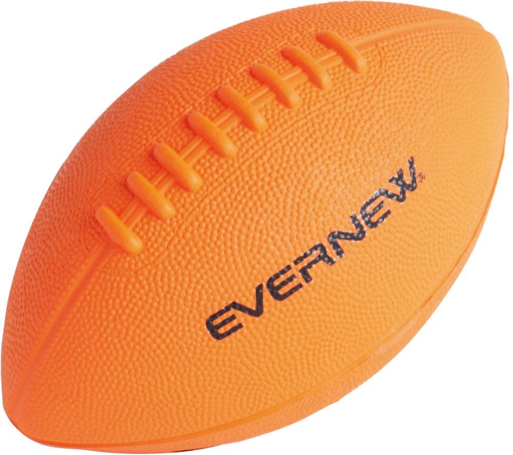 EVERNEW エバニュー 体育用品 2020 新作 大好評です ラグビー ボール ソフトラグビーボールPU オレンジ {SK} 橙 ダイダイ 21 ETE076