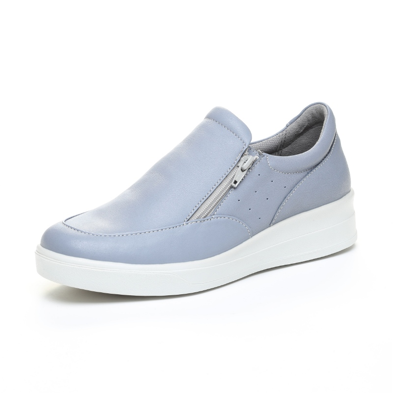 Moonstar ムーンスター コンフォートシューズ 革靴 SPORTH スポルス SP9030 青 入荷予定 人気の製品 42300455 {SK} ブルー レディース 女性用