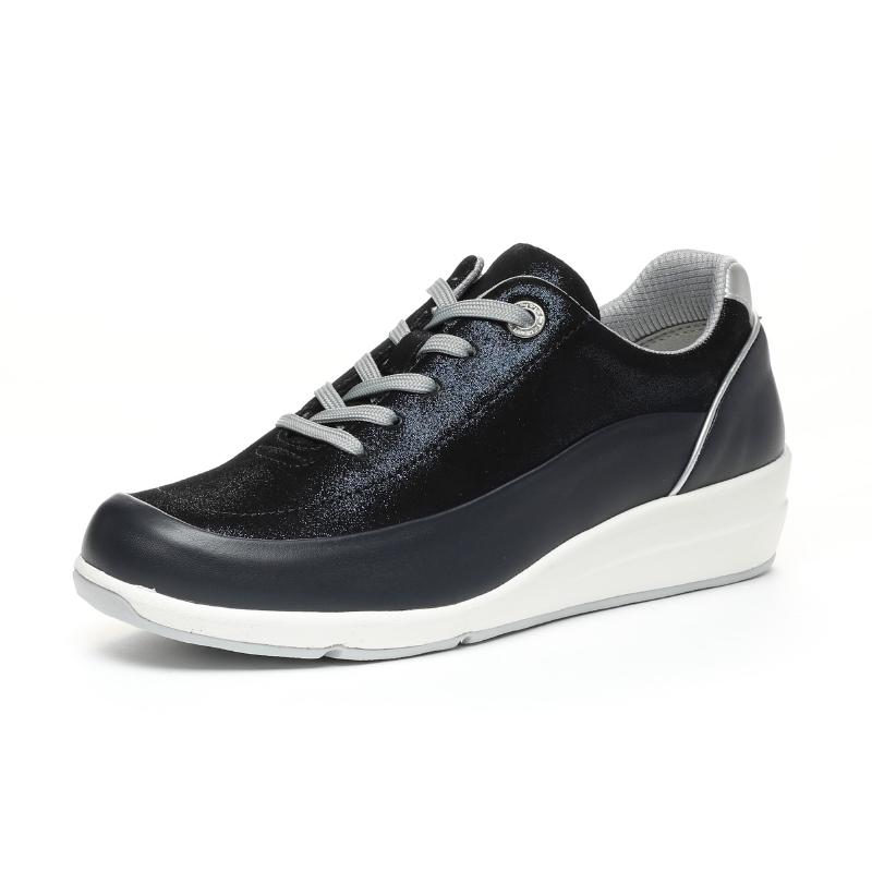Moonstar ムーンスター コンフォートシューズ 安売り 革靴 豊富な品 SPORTH スポルス SP0215 {SK} 42300495 女性用 ネイビー レディース 外反母趾サポートインソール 紺
