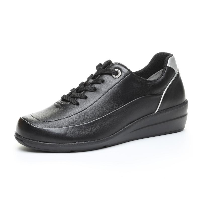 Moonstar ムーンスター コンフォートシューズ 革靴 SPORTH スポルス SP0215 レディース 外反母趾サポートインソール 黒 即納 {SK} 女性用 42300496 ブラック 超激安特価