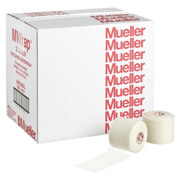 48個セット販売 Mueller ミューラー トレーニング フィットネス サポーター テープ 安売り 包帯 Mラップカラー 70mm チームパック アンダーラップ ベージュ 130702 {SK} テーピング レディース 手で切れる〉 メンズ 〈はさみ不要 男性用 当店は最高な サービスを提供します 女性用 肌