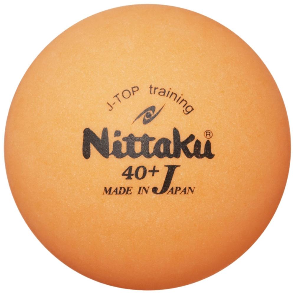 在庫あり 送料無料 Nittaku ニッタク 卓球 ボール カラージャパントップトレ球 NB1370 メンズ レディース 100%品質保証 6個入り