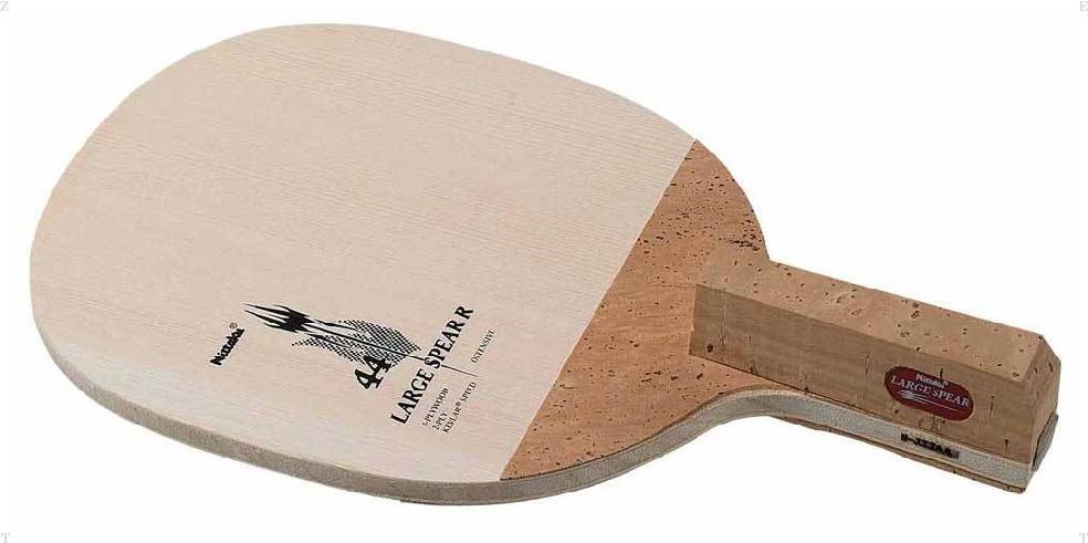 Nittaku(ニッタク) 卓球 ラケット ラージスピア R メンズ・レディース NC0157