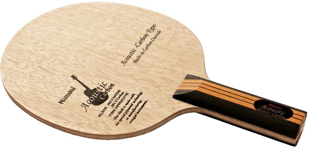 Nittaku(ニッタク) 卓球 ラケット アコースティックカーボンST メンズ・レディース NC0384