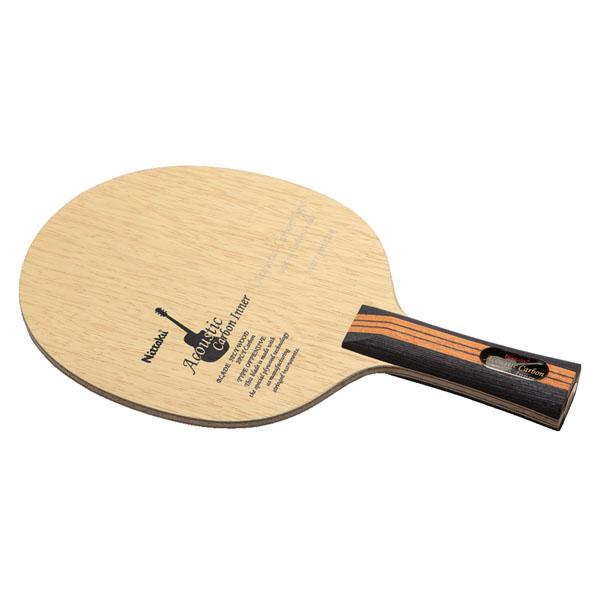 メンズ・レディース アコースティック Nittaku(ニッタク) カーボンインナー NC0403 FL ラケット 卓球