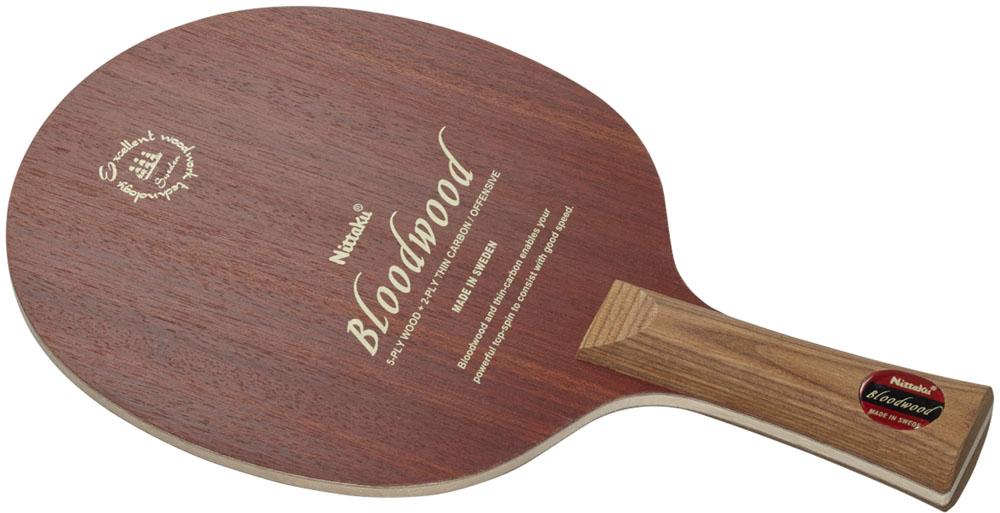 Nittaku(ニッタク) 卓球 ラケット ブラッドウッド FL メンズ・レディース NC0425