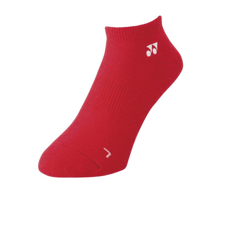 YONEX ヨネックス テニス 未使用品 ソックス 靴下 メンズスニーカーインソックス ルビーレッド 男性用 期間限定特別価格 338 {NP} 19121 21 赤 メンズ