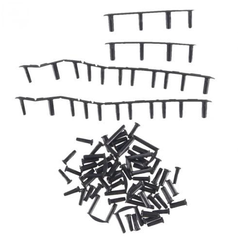 YONEX 安心の実績 高価 買取 強化中 ヨネックス バドミントン ラケットアクセサリー ラケット用品 バド ハトメ VTZF2用 専用グロメットセット {NP} AC416VTA メンズ ブラック 大人気! 21 レディース 男性用 黒 女性用