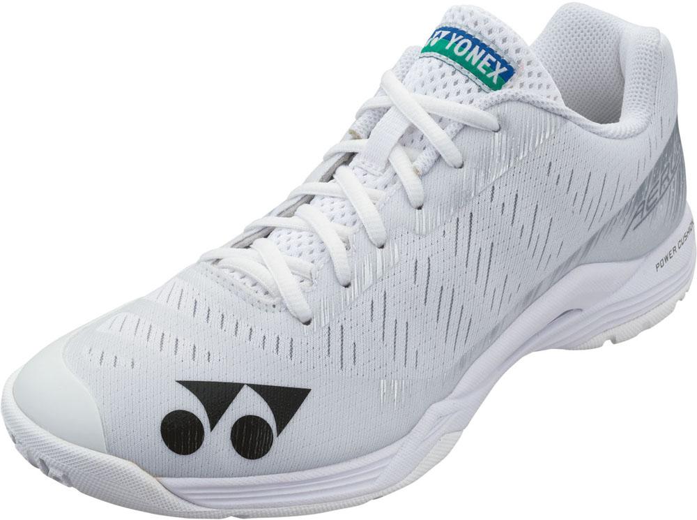 YONEX 誕生日 お祝い ヨネックス バドミントン シューズ 靴 スニーカー パワークッションエアラスZウィメン 室内用 011 21 レディース SHBAZLA 注目ブランド {SK} 白 ホワイト 女性用