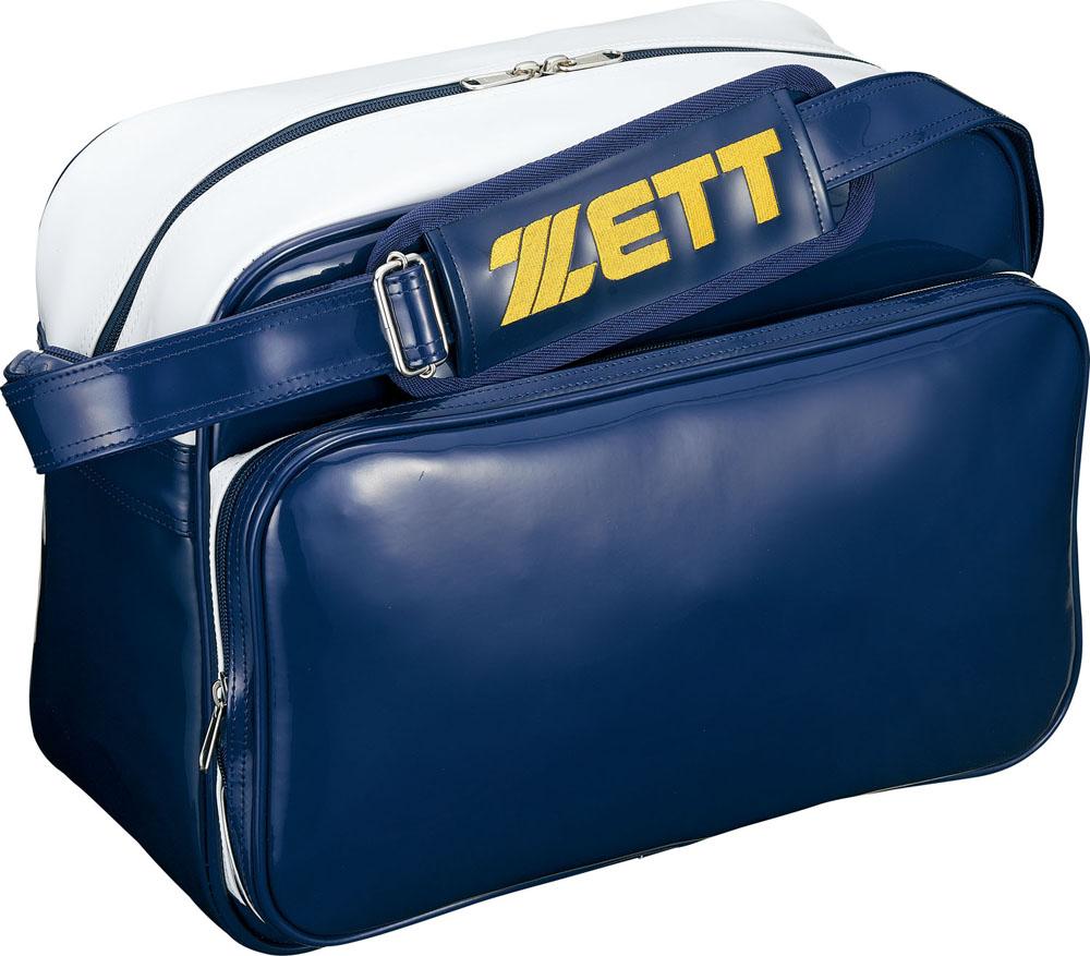 送料無料 ZETT ゼット 野球 バッグ 国内送料無料 ケース ネイビー ショルダータイプ BA596 訳ありセール 格安 ホワイト セカンドバッグ