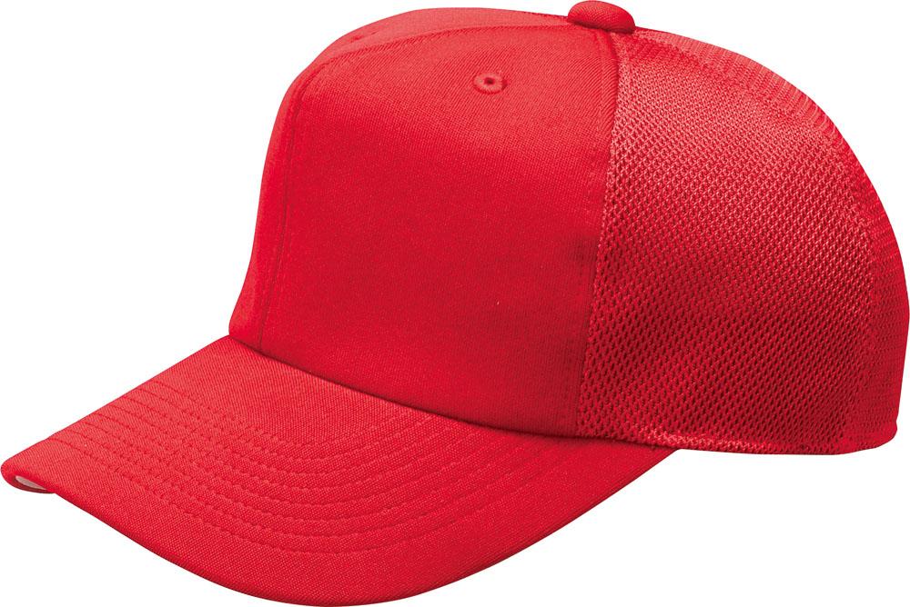 ZETT ゼット 野球 ソフトボール 帽子 キャップ 六方ニット後メッシュベースボールキャップ 2020A W新作送料無料 オリジナル メンズ レディース ユニセックス 18SS 大人用 ジュニア 6400 少年用 レッド キッズ BH161A {SK}