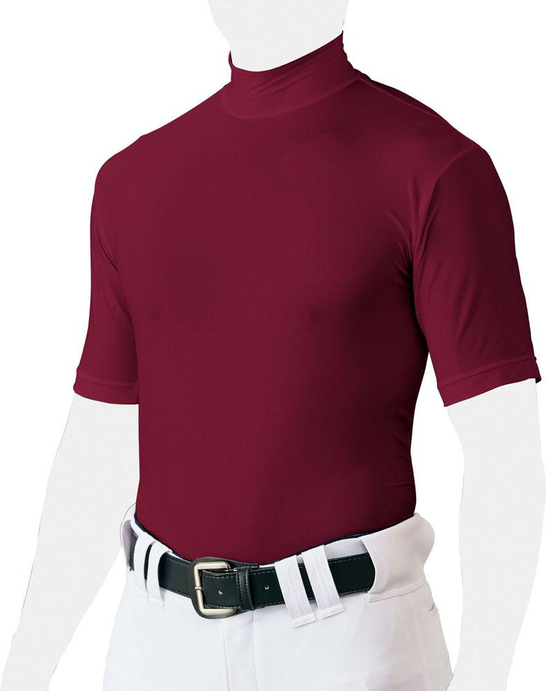ZETT ゼット 野球 ソフトボール 日本 アンダーシャツ 業界No.1 ウェア Tシャツ ライトフィットアンダーシャツ 6801 半袖〈ショートスリーブ〉 BO1820 19SS ハイネック Wエンジ {NP}