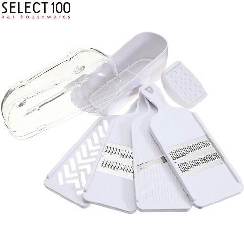 受賞店 シンプルで美しく手になじむ道具シリーズ SELECT100 セレクト100 調理器セット セール特価 貝印 DH-3027