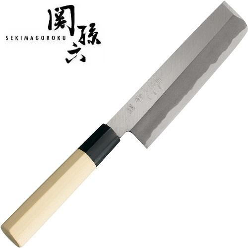 送料無料 関に継承された伝統 名刀の極み 関孫六 金寿本鋼 薄刃165 アウトレットセール 特集 AK5222 数量限定 菜切包丁 和包丁 貝印