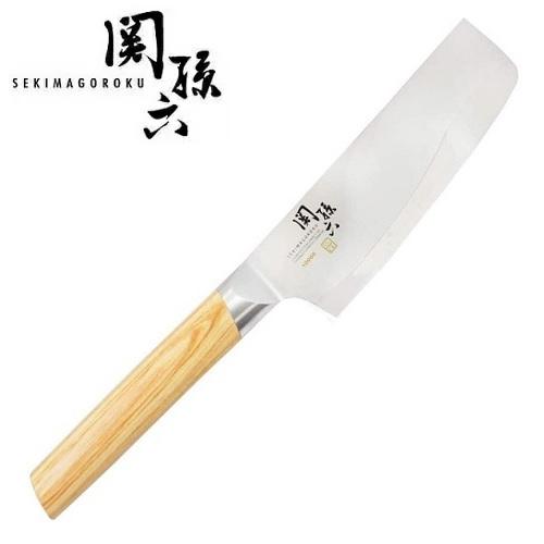 送料無料 新色追加 関に継承された伝統 名刀の極み 関孫六 10000CL 卸売り 菜切165 菜切包丁 貝印 AE5257 薄刃包丁