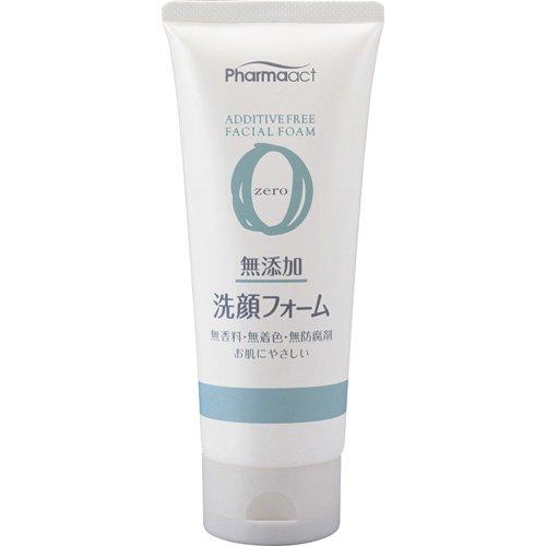 100%植物性 授与 ほのかな香りの無添加シリーズ ファーマアクト 無添加洗顔フォーム 熊野油脂 セットアップ 130g