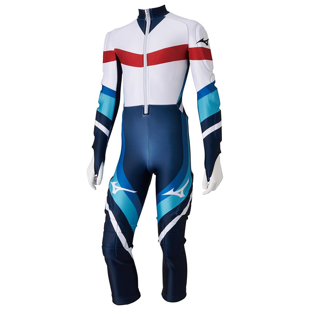 2019-2020ミズノ スキーウェアジュニアチームミズノレーシングスーツGSワンピース