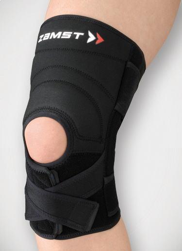ZK-7 ザムスト【ZAMST】 膝用サポーター(ハードサポート)ヒザ用:1枚入り