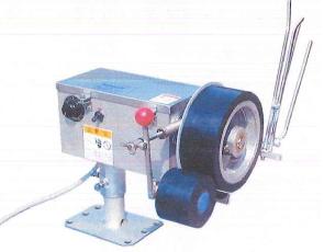 森山製作所 昼イカ巻揚機 電動式 1WD-CS100型 左仕様 送料無料 船舶電装品