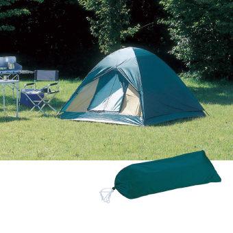 キャンプ用品 ビギナー5点セットB [ テント シュラフ バーベキューコンロ テーブルチェアセット LEDランタン ]