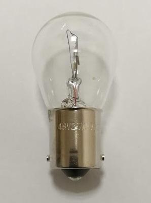 舶用電球 白熱電球 BA15s S25 48V25W 50個入