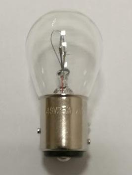 舶用電球 白熱電球 BAY15d S25 48V25W 50個入