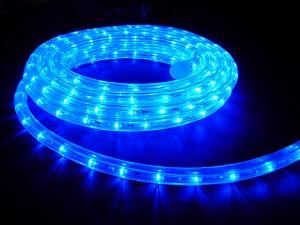 イルミネーション LEDルミネチューブ/6Mセット CLED6B 青 防水規格IPX4 100V コントローラー付 接続・カット不可