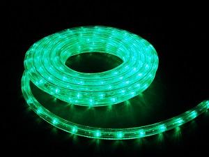 イルミネーション LEDルミネチューブ/6Mセット LED6G 緑 防水規格IPX4 100V コントローラー付 接続・カット不可