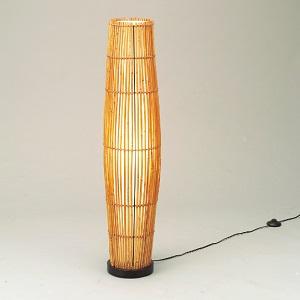 東京メタル工業 LED 照明器具 アジアン WDLT0-77Z ホワイトランプ60W付 中間スイッチ付 ビニールコード2.1m付 材質 籐