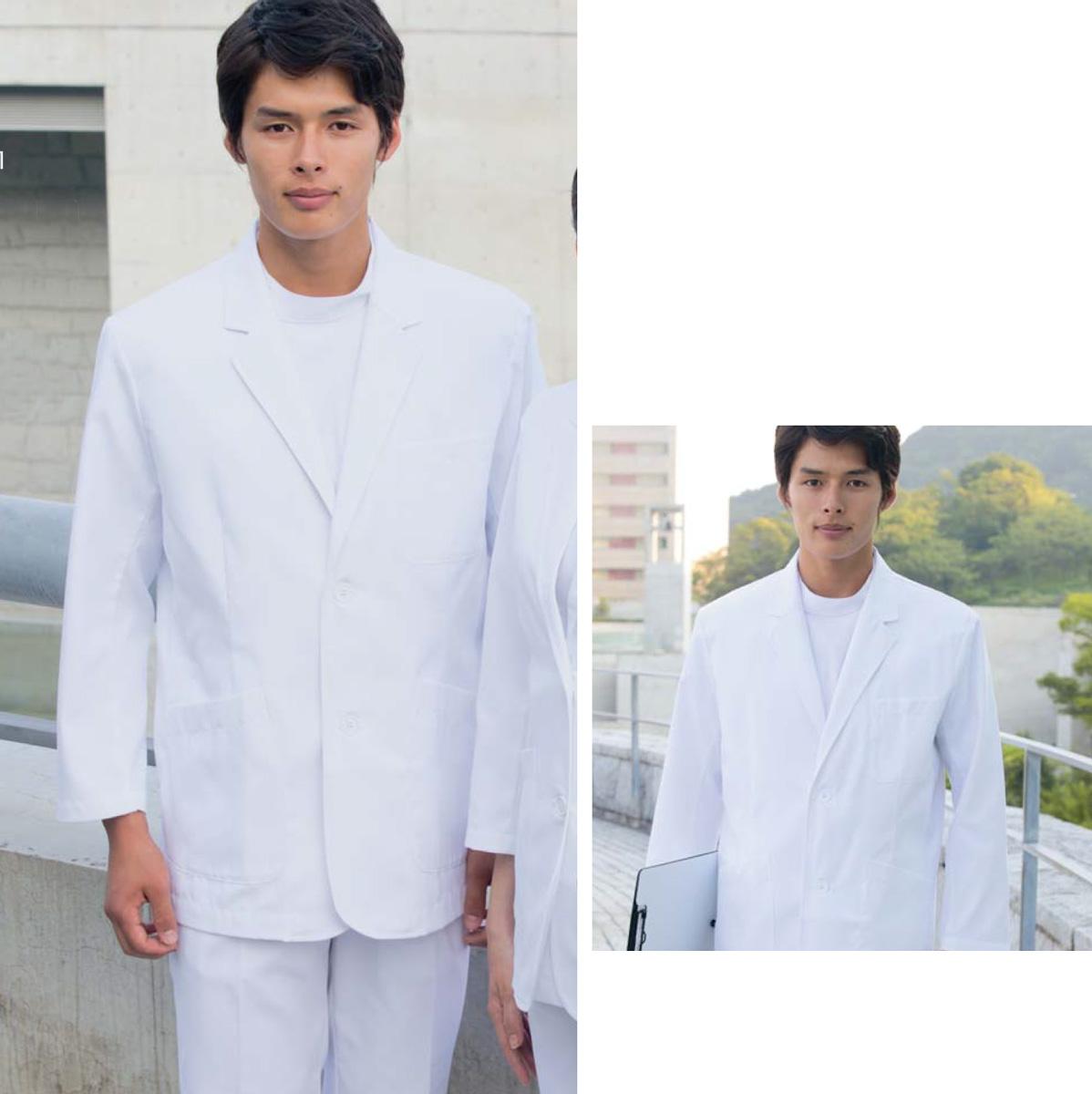 メンズドクターブレザー 【71-901】 白衣 医療 ドクターコート モンブラン